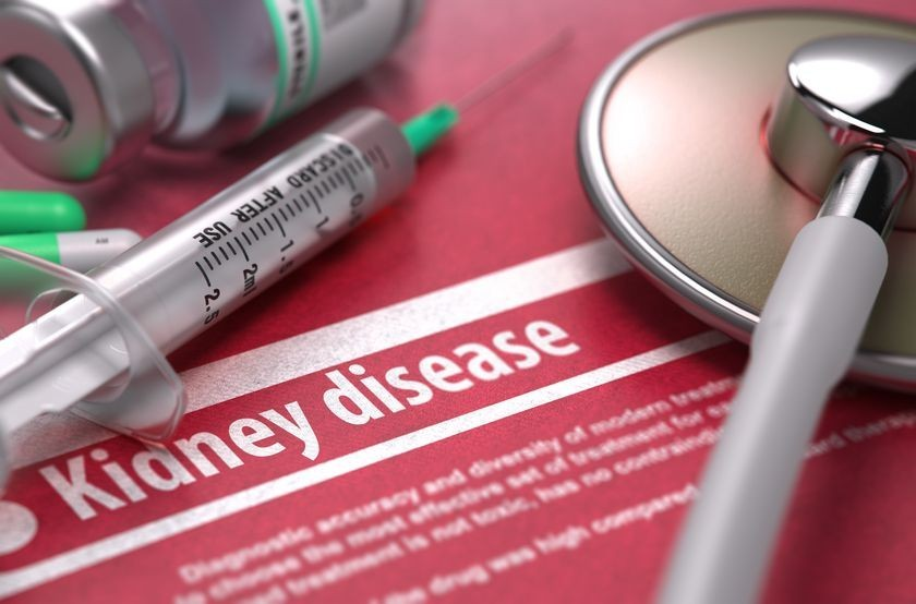 Kidney disease medical concept