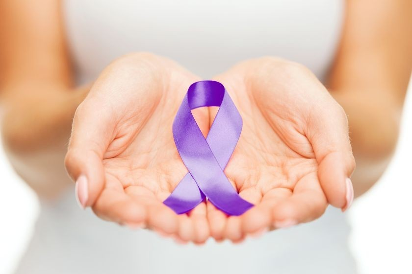 Alzheimer's Awareness ribbon